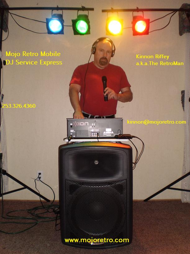 mojoretro.com presents: Mojo Retro Mobile DJ Service Express